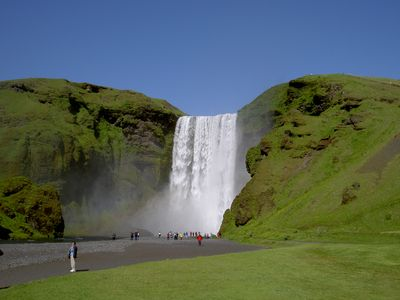 Skogafoss_from_below